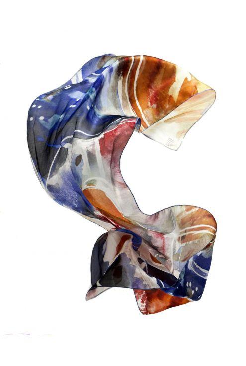 Fulard de seda natural