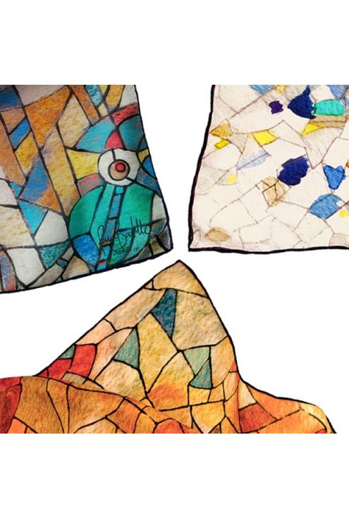 Geometric Gaudi - 3 prints inspired by Gaudi architecture