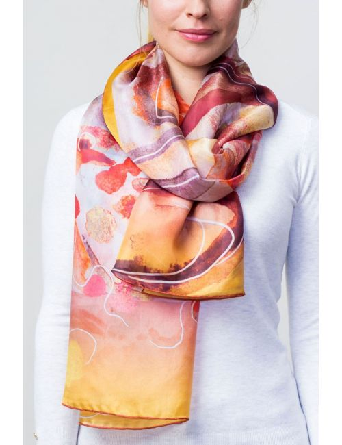 "Fulard ""Fragments Universals Grocs"""
