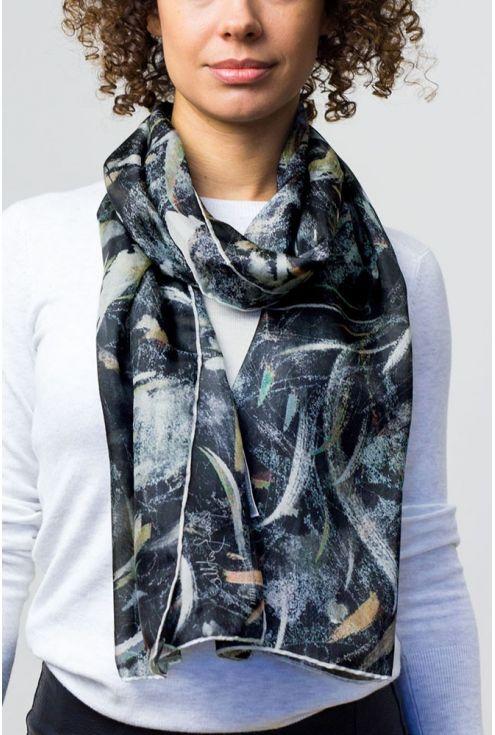 Vel de núvia, fulard en seda natural atrevit, passional i molt fresc.