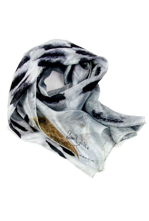 Men's silk scarf