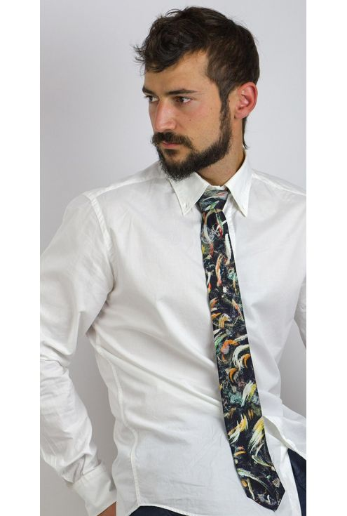 Silk Tie Wedding Veil, exclusive design