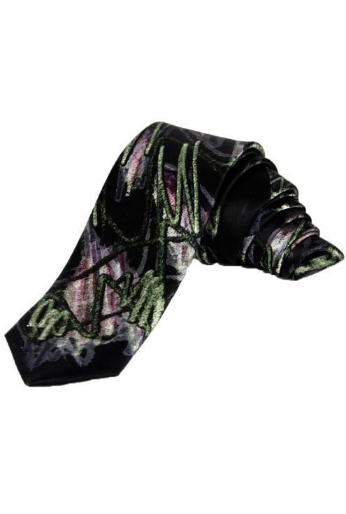 Natural silk Tie Anubis, for the most bold and exclusive celebrations