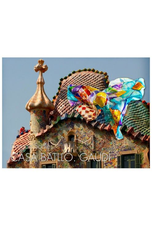 Inspired by the rooftop of Casa Batllo