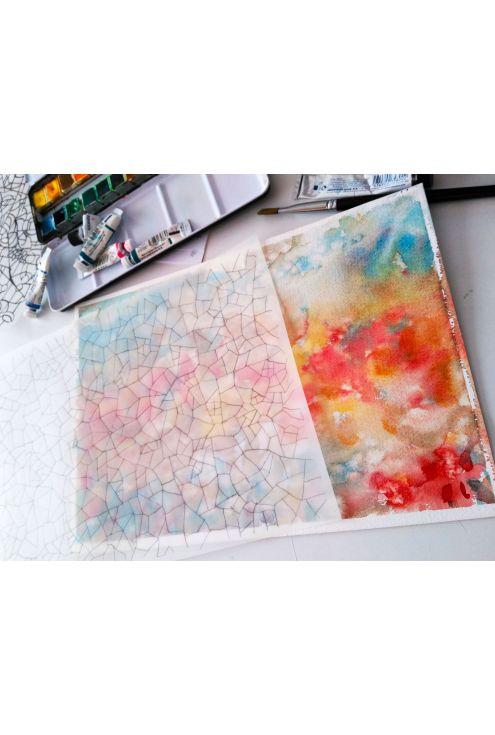 Watercolors and pencil - Design process
