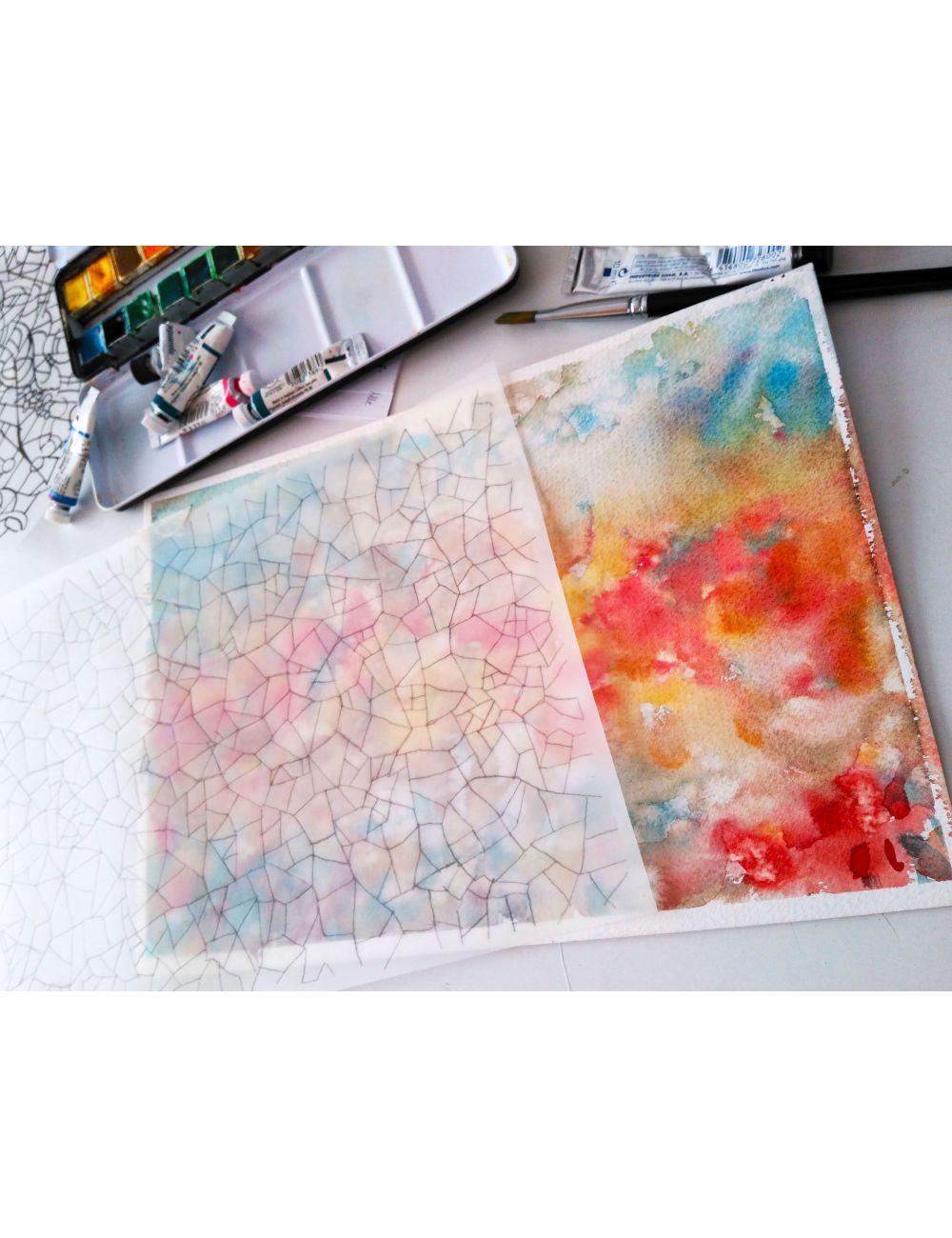 Procés de disseny - Aquarel·les i llàpis