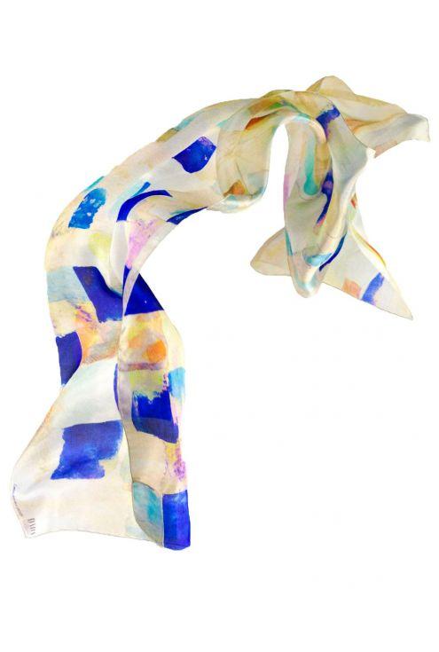 """Silk scarf """"Barefoot Gaudi"""" Casa Batllo"""
