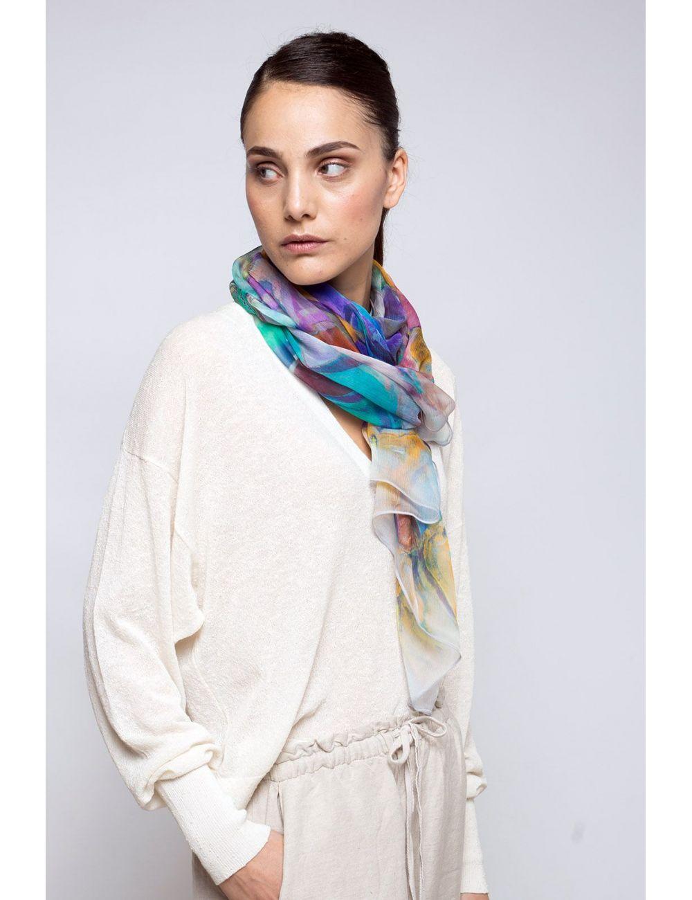 Fulard Gerbera