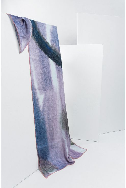 Fulard seda extra gran