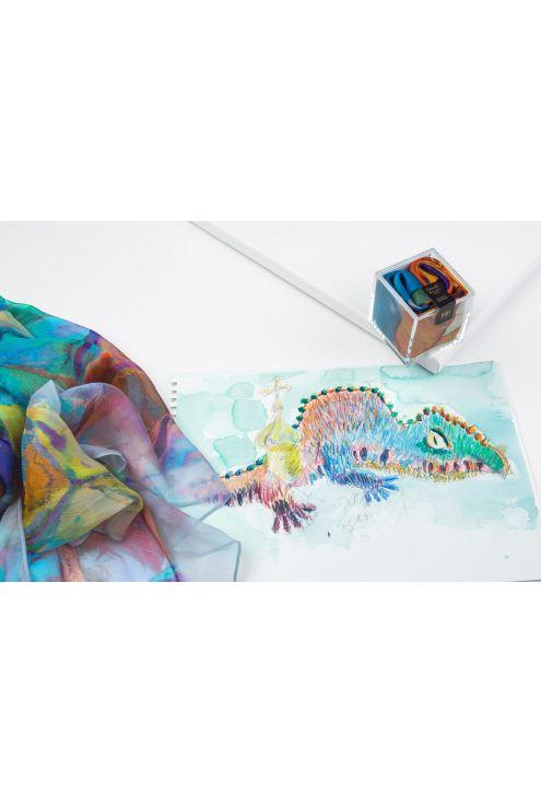 Inspiración del diseño en lápices de colores