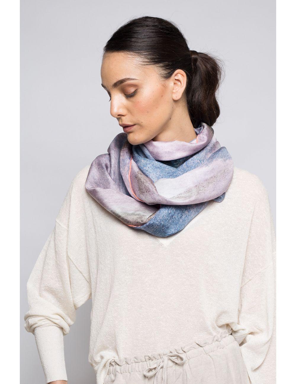 Extra large Silk Scarf
