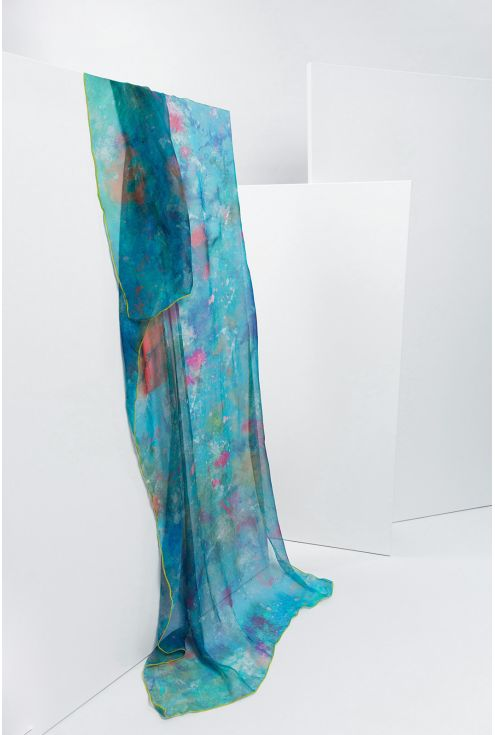 Extra large Silk Scarf