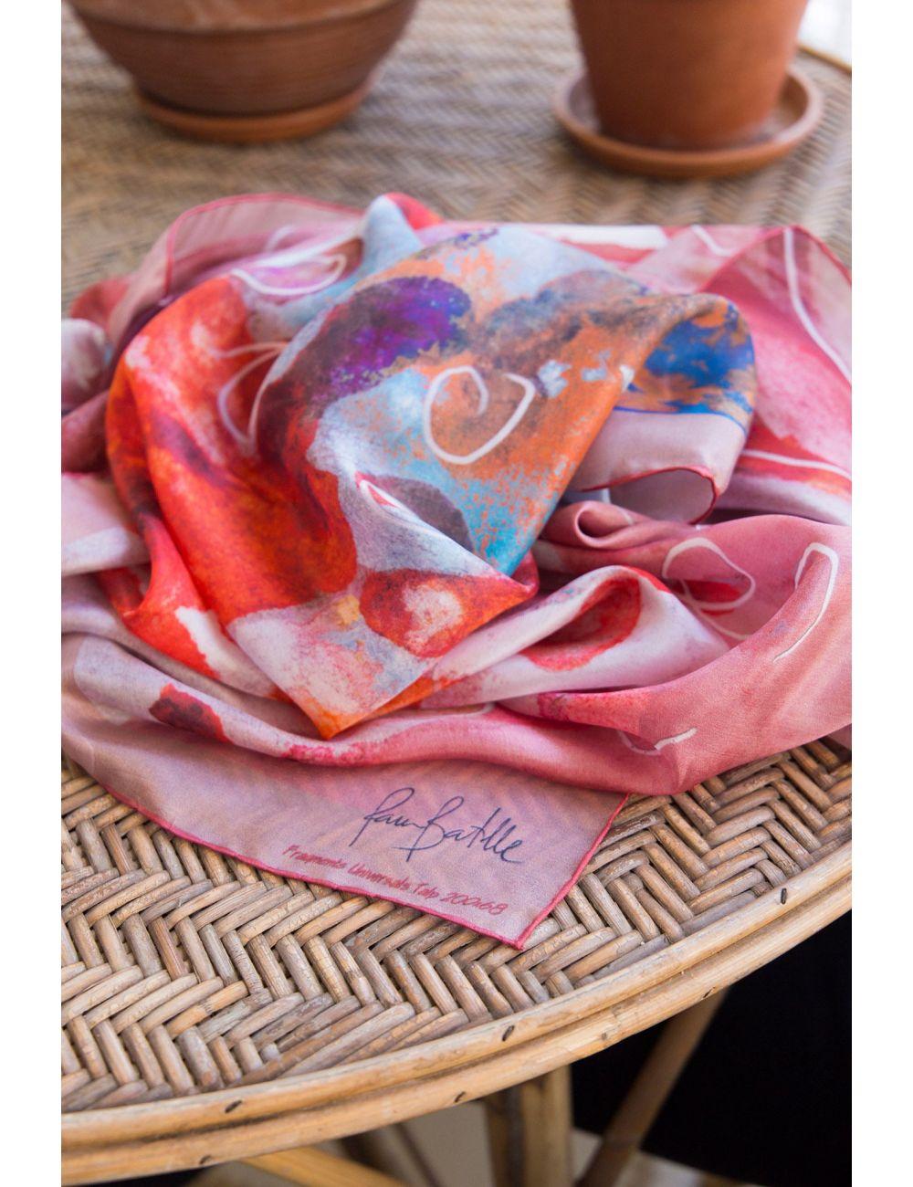 Custom Made Silk Scarf