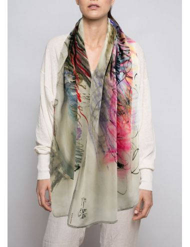 Fulard Crepe de Xina