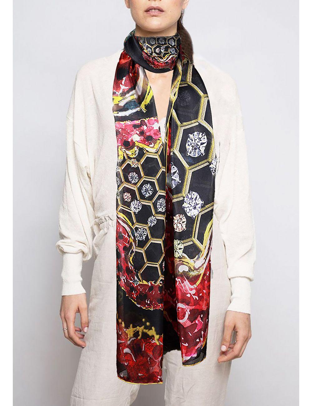 """Fulard de seda """"Cor de..."""