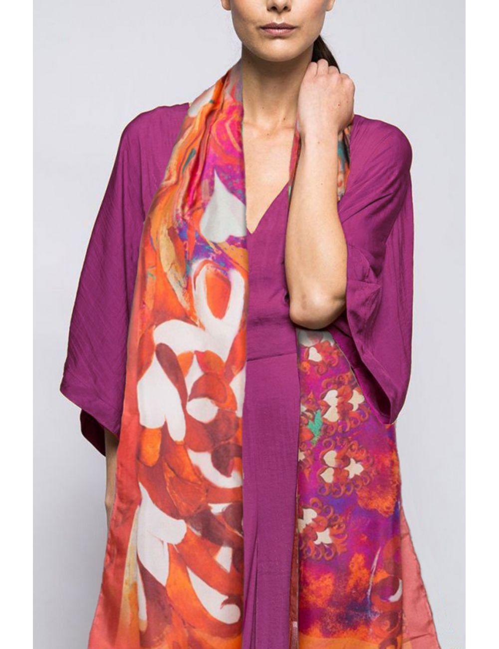 """Fulard """"Plomes al Vent..."""