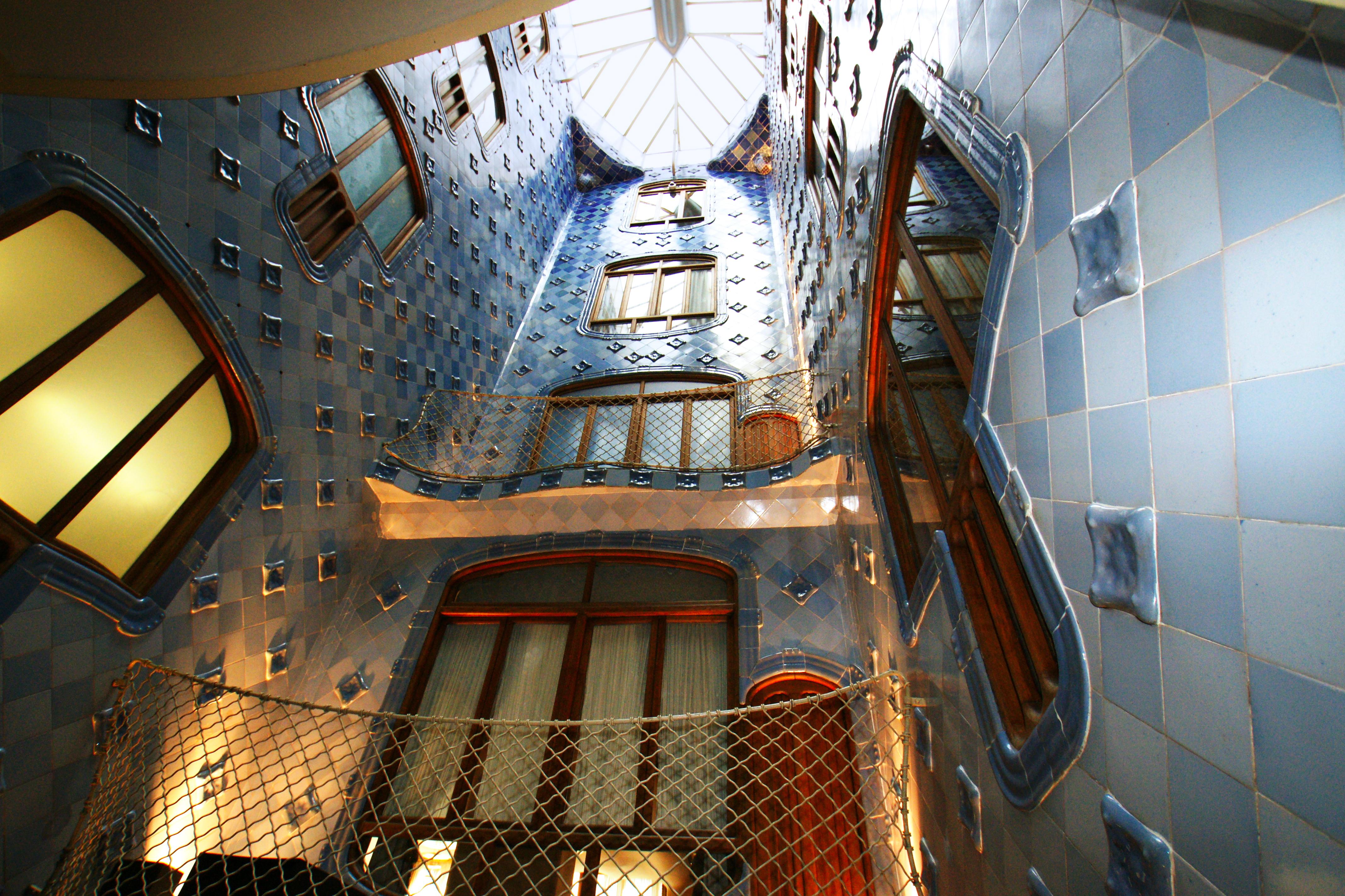 Gaudís Masterpiece Casa Batllo Inspired Scarves