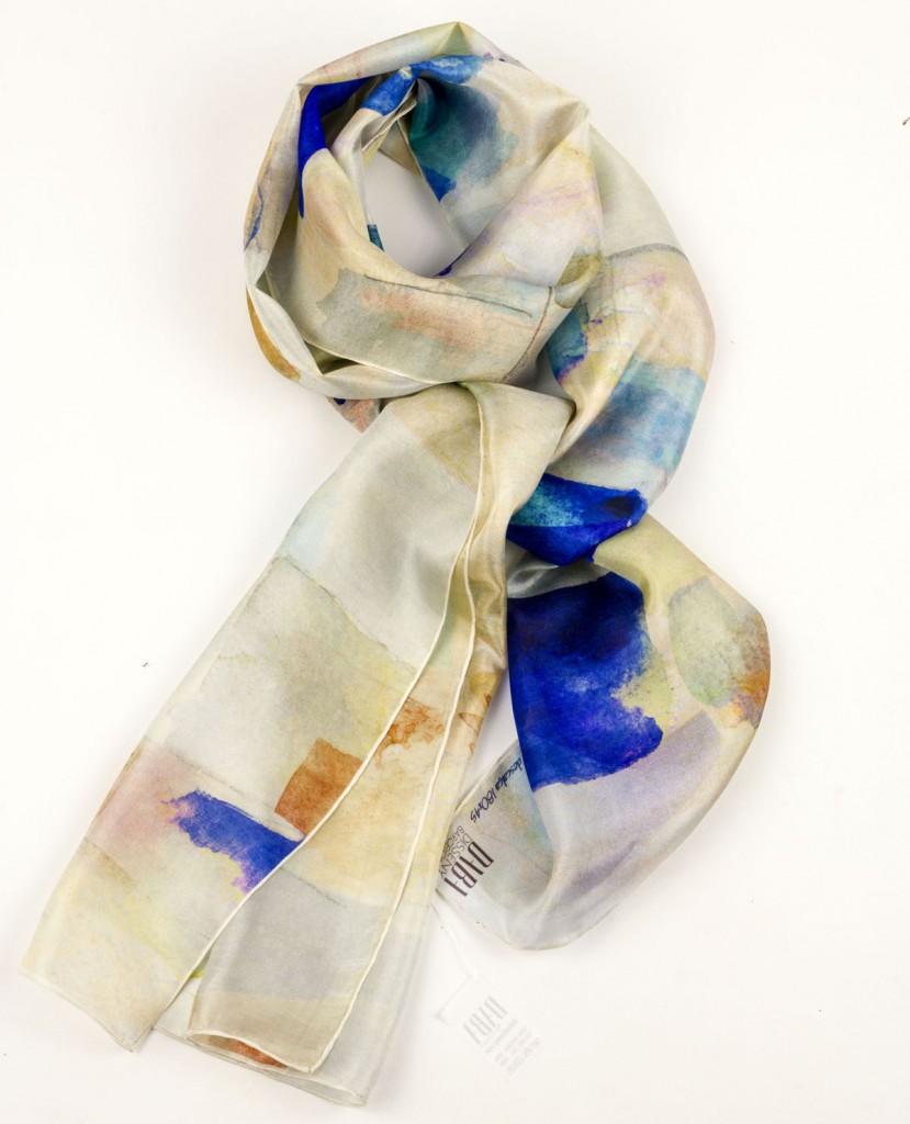 "Gaudi Casa Batllo inspired scarves ""Barefoot Gaudi"" Lace - Daba Disseny Barcelona"
