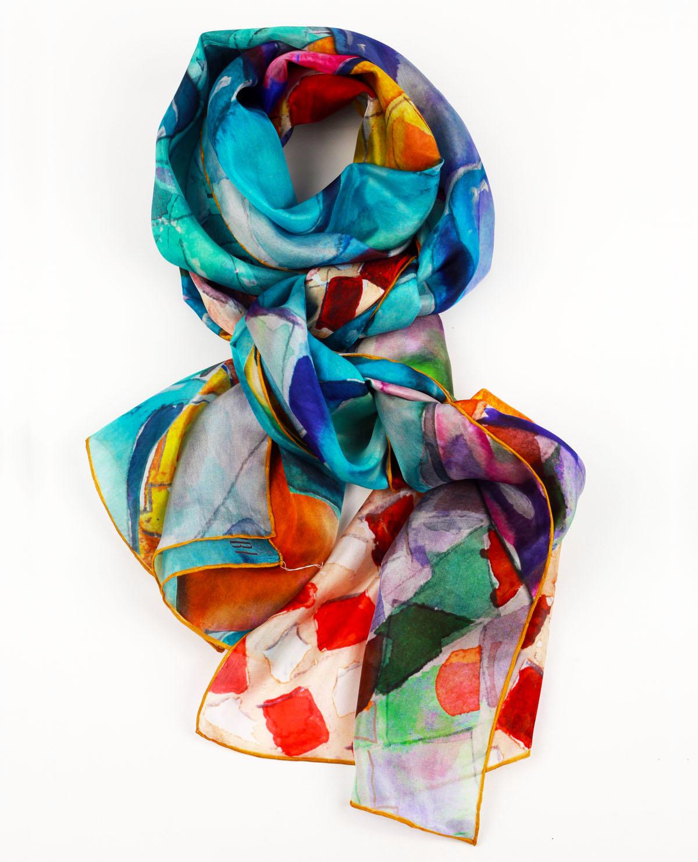 Creació fulards de seda Daba Disseny Barcelona